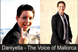 Daniyella - Singer fior Wedding, Ceremony, Party and Event in Mallorca