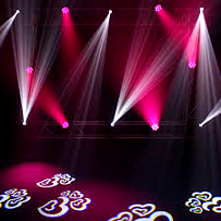 Hire LED Movinglights inf Mallorca
