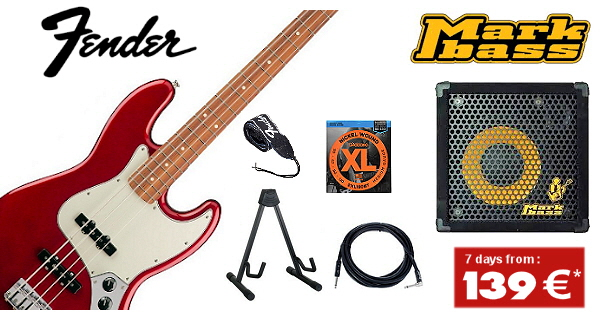 Rental of instruments and accessories for your holidays in Mallorca